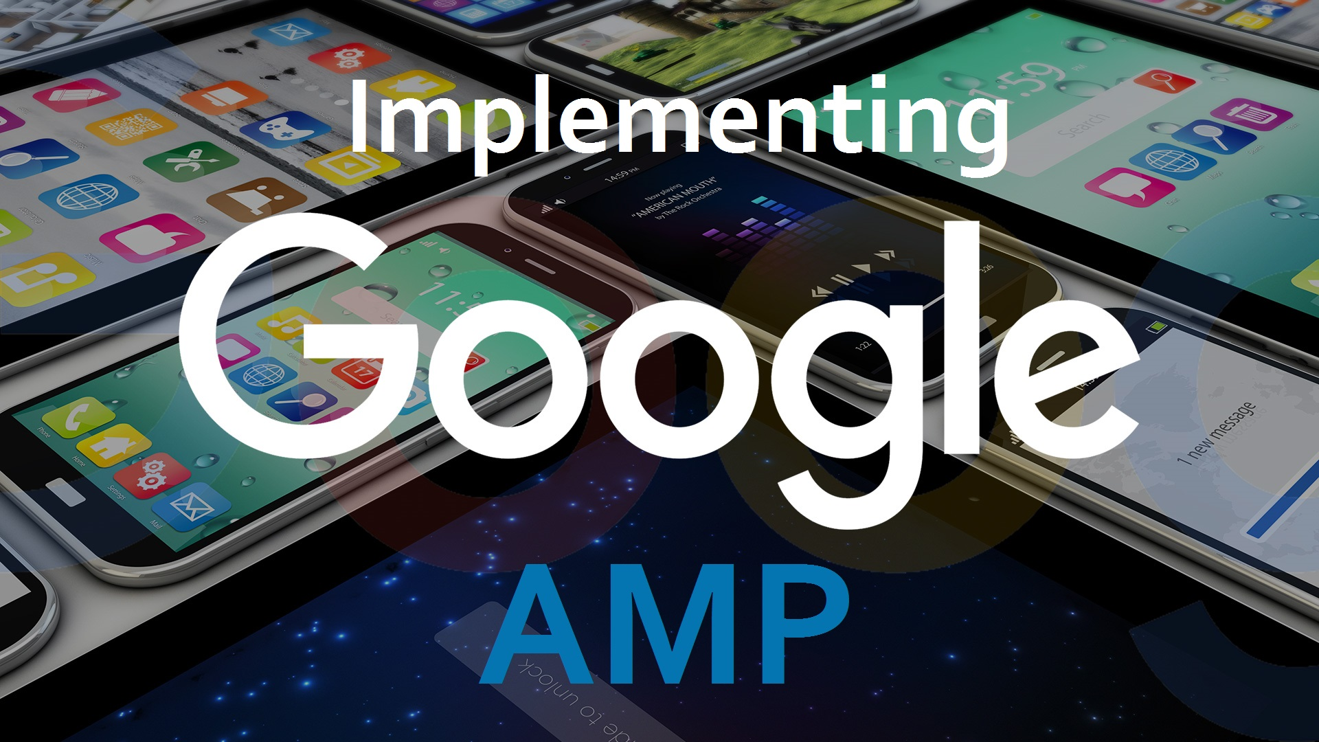 implementing google Accelerated mobile pages
