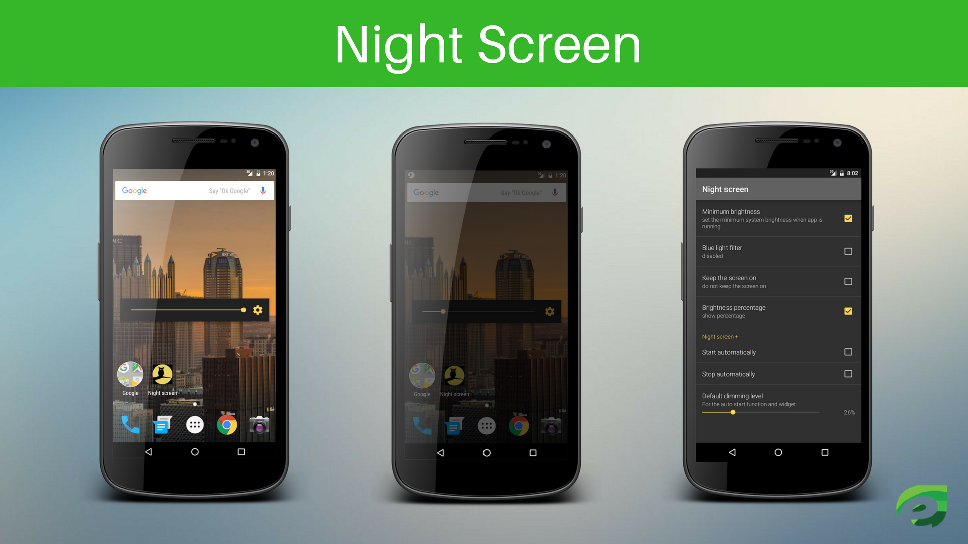 Night Screen - Eye Protection Apps