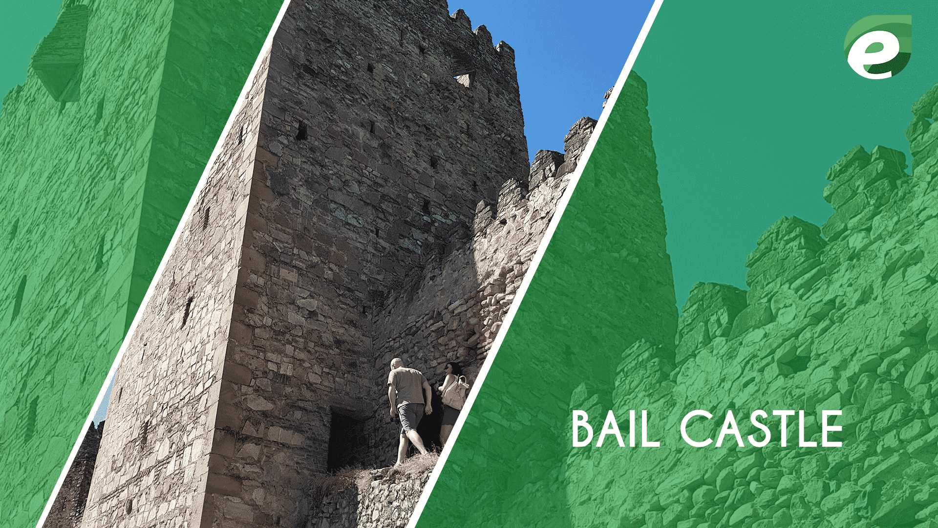 Baku- Capital of Azerbaijan- Bail Castle