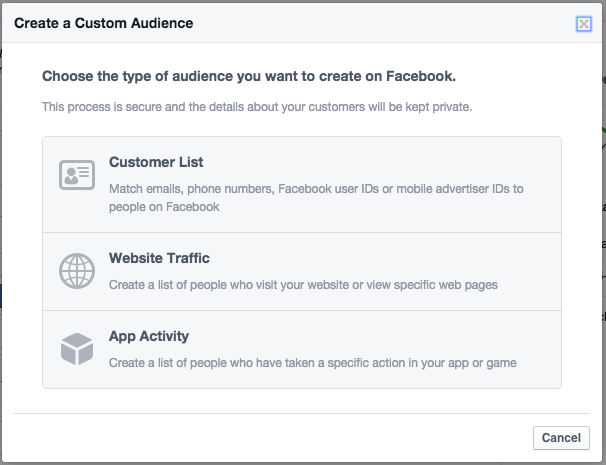 customize your audience