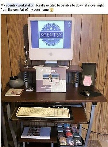 scentsy workstation