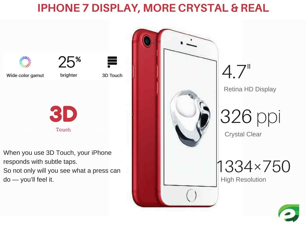 iphone 7 red display