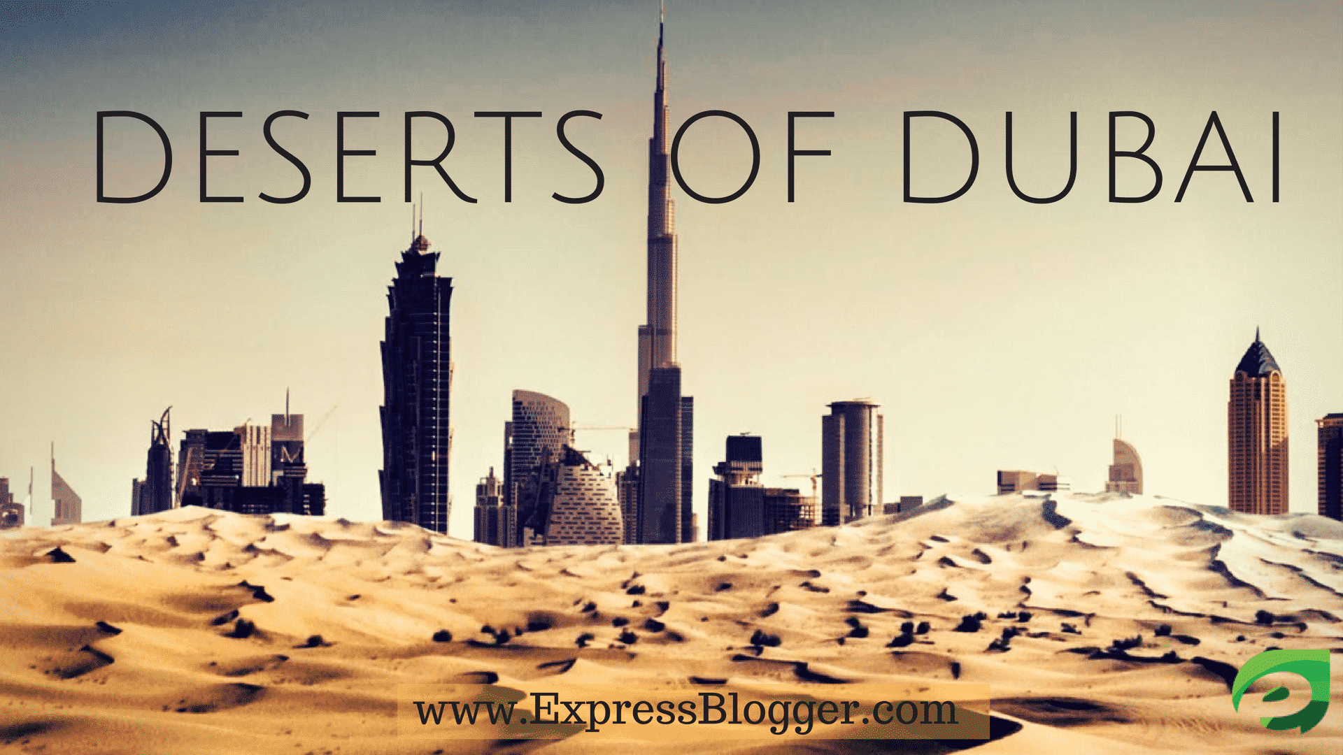 deserts of Dubai