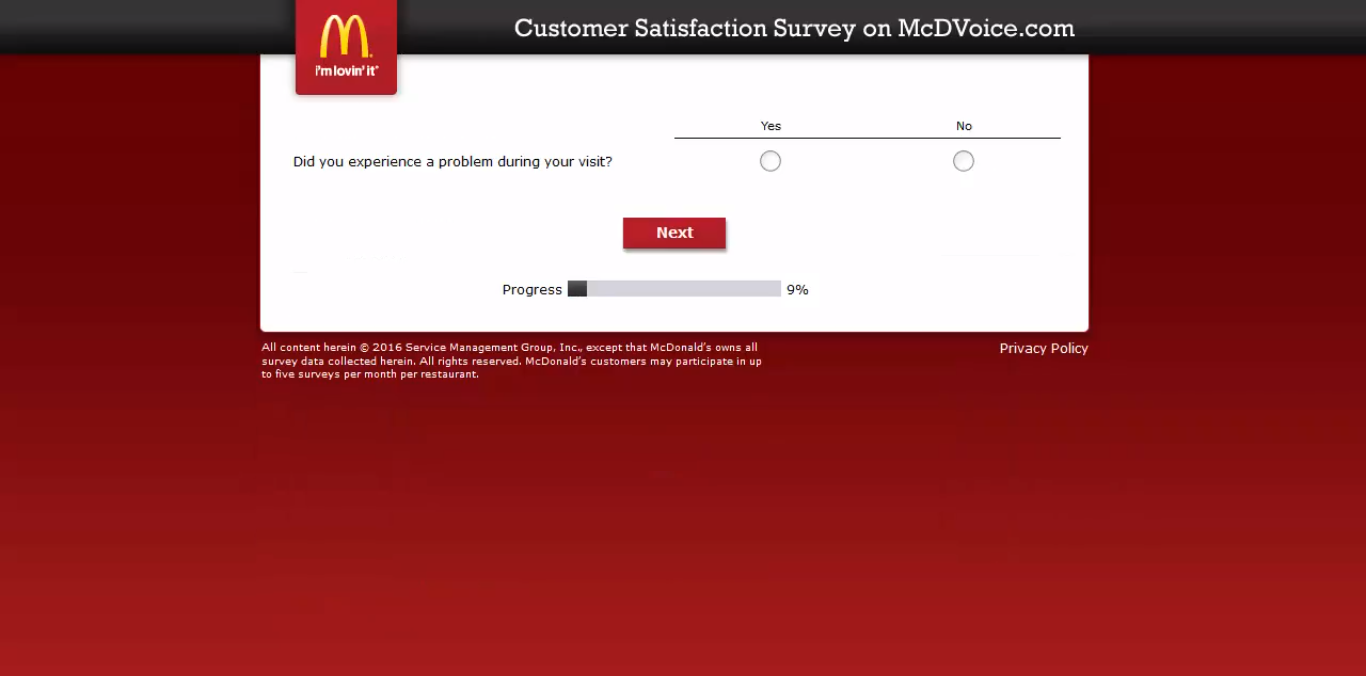 mcdvoice - question 6