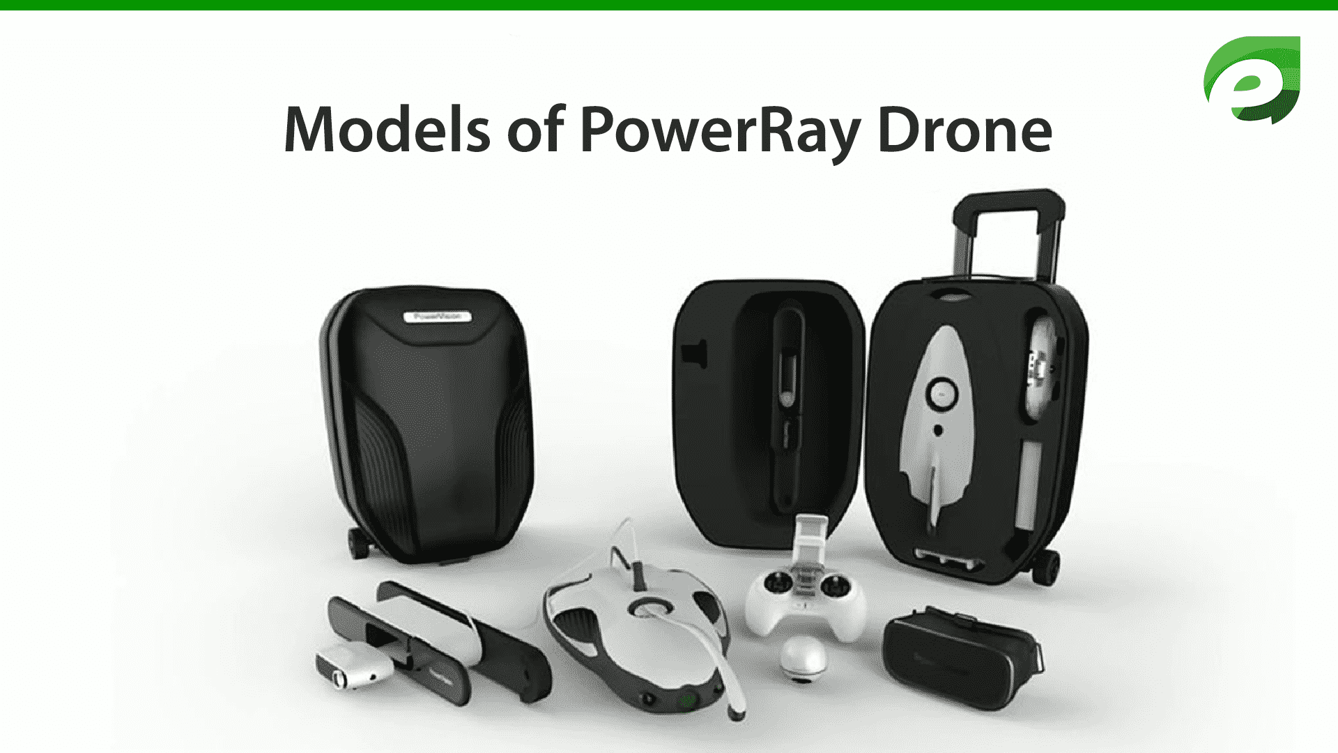 PowerRay drone- models