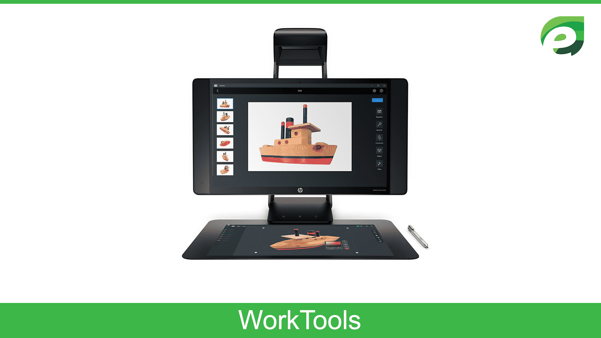 hp sprout G2 - worktool