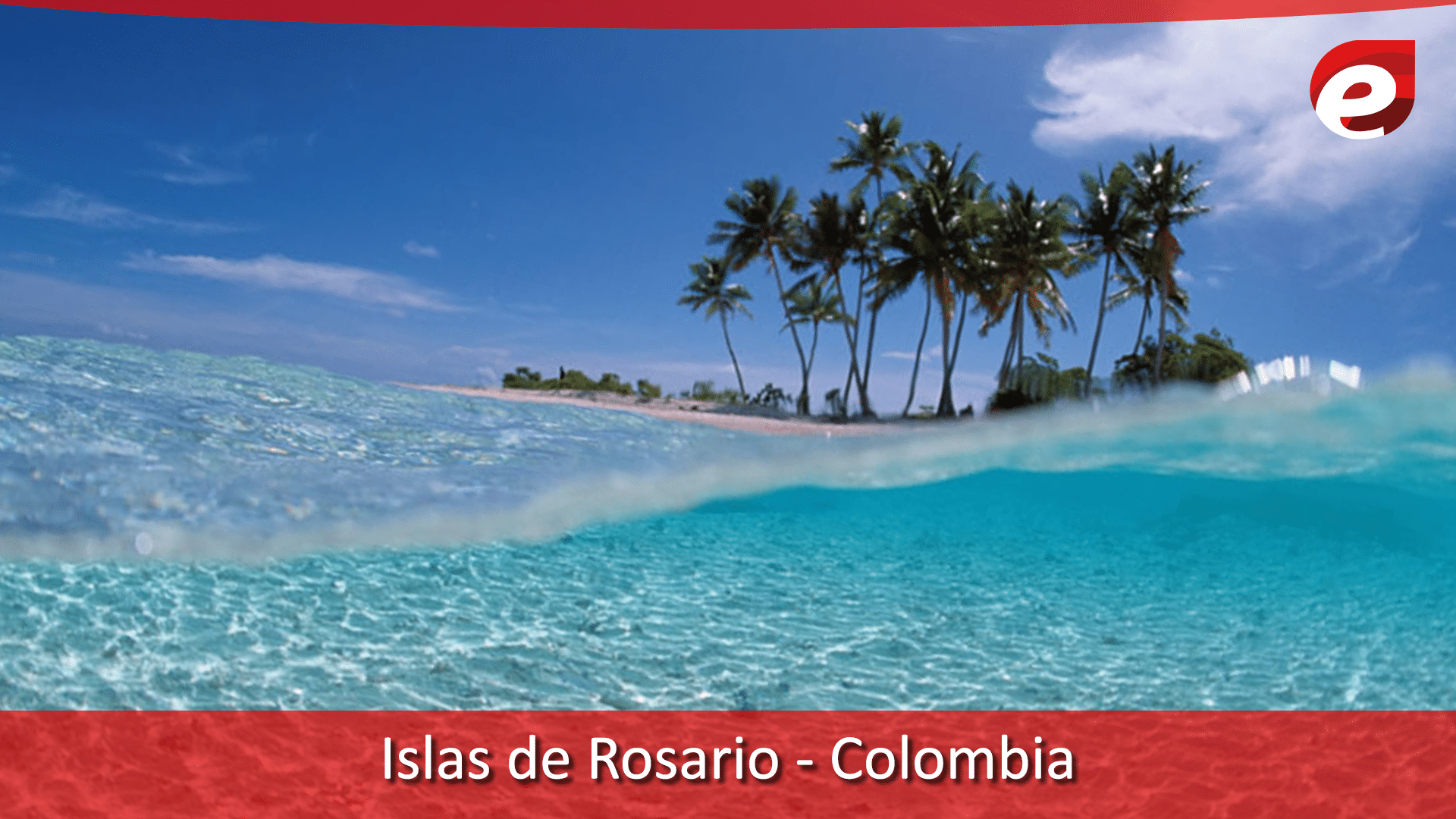 Bluest water in the world- colombia