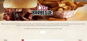 tell City Barbeque Survey