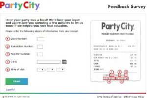 paryt city feedback survey